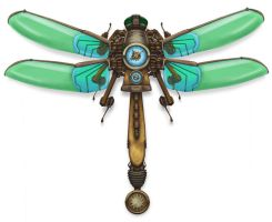 Pendulum Timing Dragonfly by mistersmite