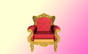 MMD Kings chair by amiamy111