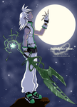 . Moonlight's Ghost . by akarui