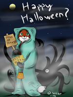 Fox's Halloween message by Vulster