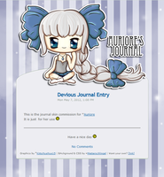 :COM: Auriore Journal Skin by Metterschlingel