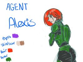 Halo Character - Alexis C. Sparks by Kneel4Loki13