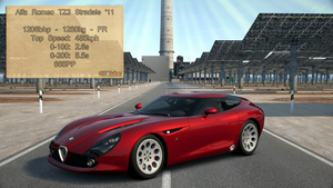 GT6 - Alfa Romeo TZ3 Stradale '11 - Stats by GT4tube