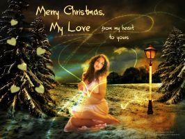 MERRY CHRISTMAS, MY LOVE by HumbleLuv