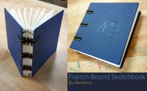 Bookmaking: French Binding by queenmari