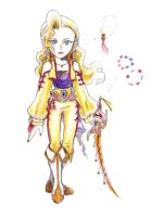 Celes Chere: Final Fantasy VI by Havenaims