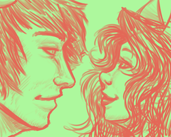 Homestuck: marker test Signless x Disciple by NancyStageRat