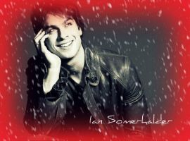 Ian Somerhalder in the Snow by Anne-Cathy