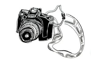 Camera Doodle by turquoise-truck