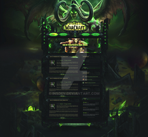 World of Warcraft: Legion - Guild Template (SELL) by InsDev