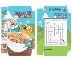 Adventure Time: Cereal Box by ReiGrace