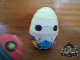 6th Doct'egg by HellswordPapercraft