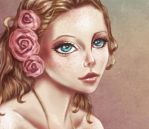 Alba (detail) by Ninelyn