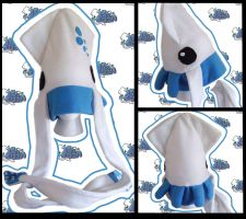Tintenfisch Squid Hat by 20f3