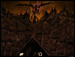 Styx Winding Through Hell's Catacombs by johnfboslet2001