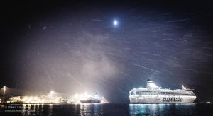 First Snow - Finland - 2014 - some boats too by hmcindie