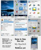 Dsma style My MacOsX blue by dsma