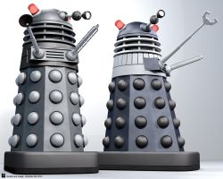 TV21 Daleks by Librarian-bot