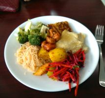 vegan restrant in hamilton called the vegan buffet by salvage24
