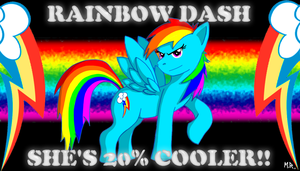 Rainbow Dash 20% Cooler by ShadowNinja976
