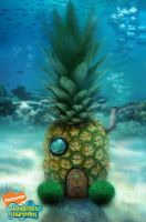 Who lives in a pineapple under the sea? by johnsonting