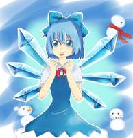 Cirno by SoftCalamari
