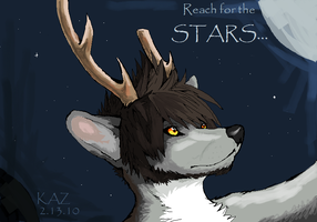 Reach For The Stars by wolf-spit