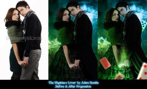 Before and After The Magician's Lover by jayderosalie