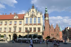 City life of Wroclaw 2 by Risandell