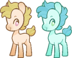Little pony Adopts by Fry-That-Egg