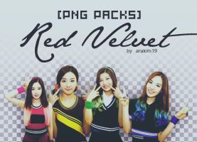 [PNG PACKS] Red velvet by babyjung2