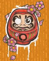 daruma by tattookollin