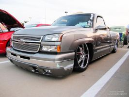 This is a cool looking Custom 2008 Chevrolet Truck by element321
