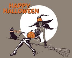 Happy Halloween 2015 by IZRA