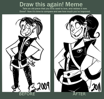 MEME- Draw This Again by BechnoKid