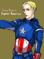 Captain America by bbcchu