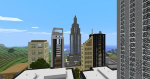 MineCity Empire State Building by Spyrobandi
