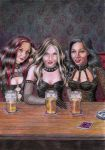 The Witches by CaroleHumphreys