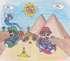 Mario Kart DS by BabyAbbieStar