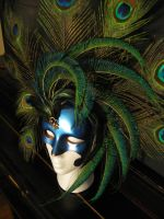 Royal Peacock mask by Relotixke