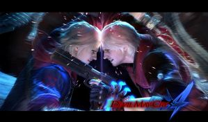 Nero VS Dante by leodheme