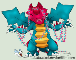 3. Favourite Dragon Type: Druddigon by Natsuakai