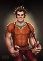 Wreck-it Ralph by daekazu