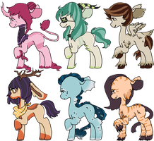 monster pony batch 2 OTA [CLOSED] by togekissuadopts