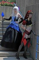 Odin Sphere Gwendolyn + Velvet by TresWildCosplay