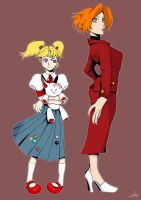 Portia and tutor. by Exemi
