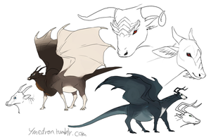Black Dragons by umbbe