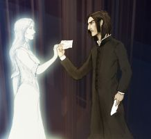 Snape and Lily by Sinusirabel