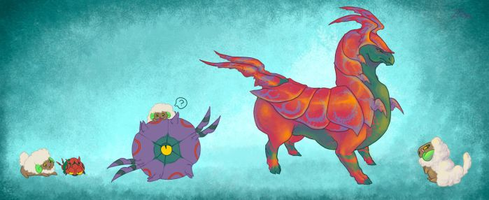 Scolipede by TornAroundtheEdges