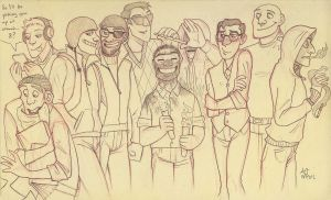 TF2 high school au sketchy by Amessicle